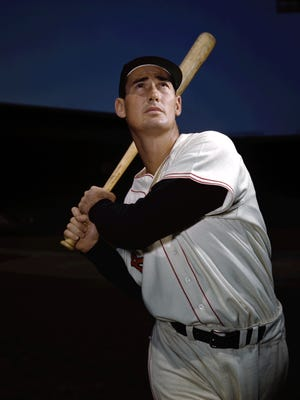 Red Sox legend Ted Williams