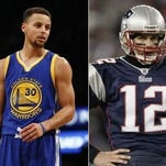 Who had the greater fall -- 2007 Patriots led by MVP Tom Brady or 2016 Warriors lead by back-to-back MVP Tom Brady?