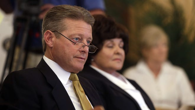 State Sen. Patrick Gallivan, R-Elma, shown in 2013 in Albany.