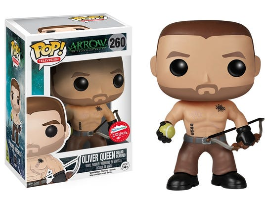 """Oliver Queen from """"Arrow,"""" from Funko Pop."""