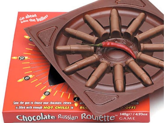 Russian Roulette Chocolates