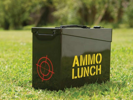 Ammo lunch box looks like the real thing.