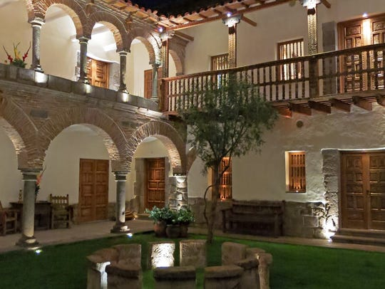 The Libertador, an almost 500-year-old mansion, is