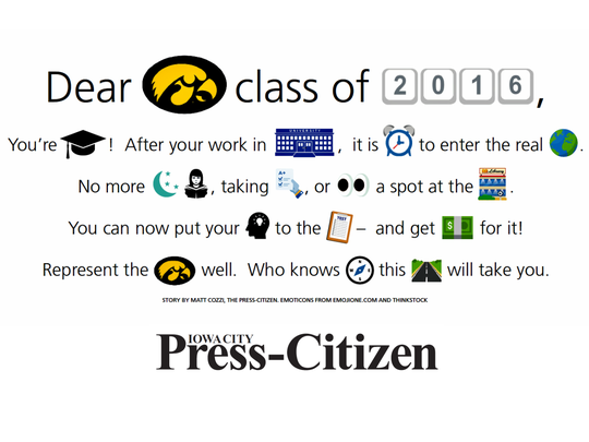 Message to UI Class of 2016.