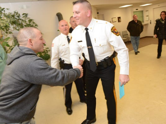 Haworth Police Chief is Sworn In