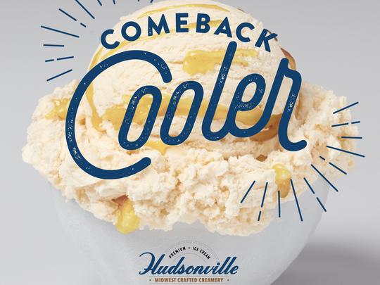 Comeback Cooler is Hudsonville Ice Cream's latest