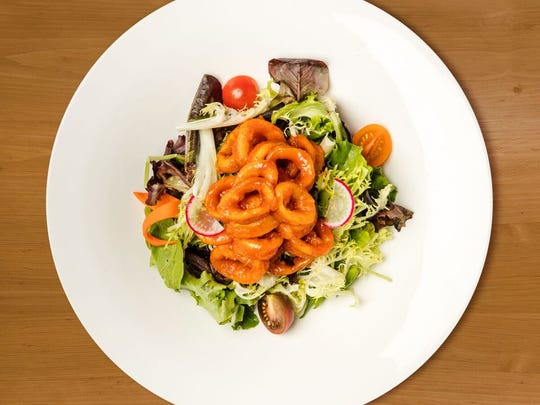 Calamari salad at Gayeon.