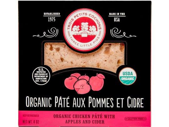Pate Aux Pommes et Cidre from Les Trois Petits Cochons