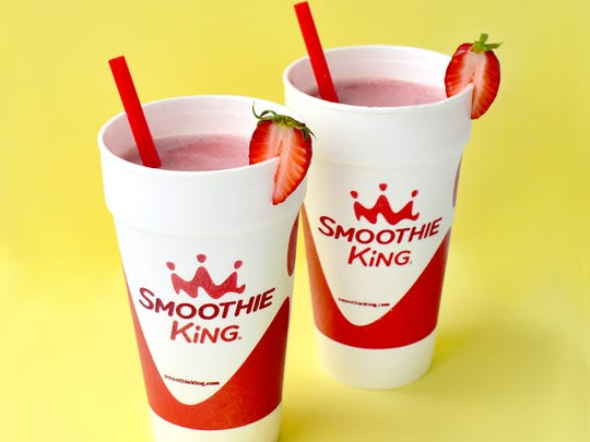 The Strawberry X-Treme smoothie at Smoothie King.