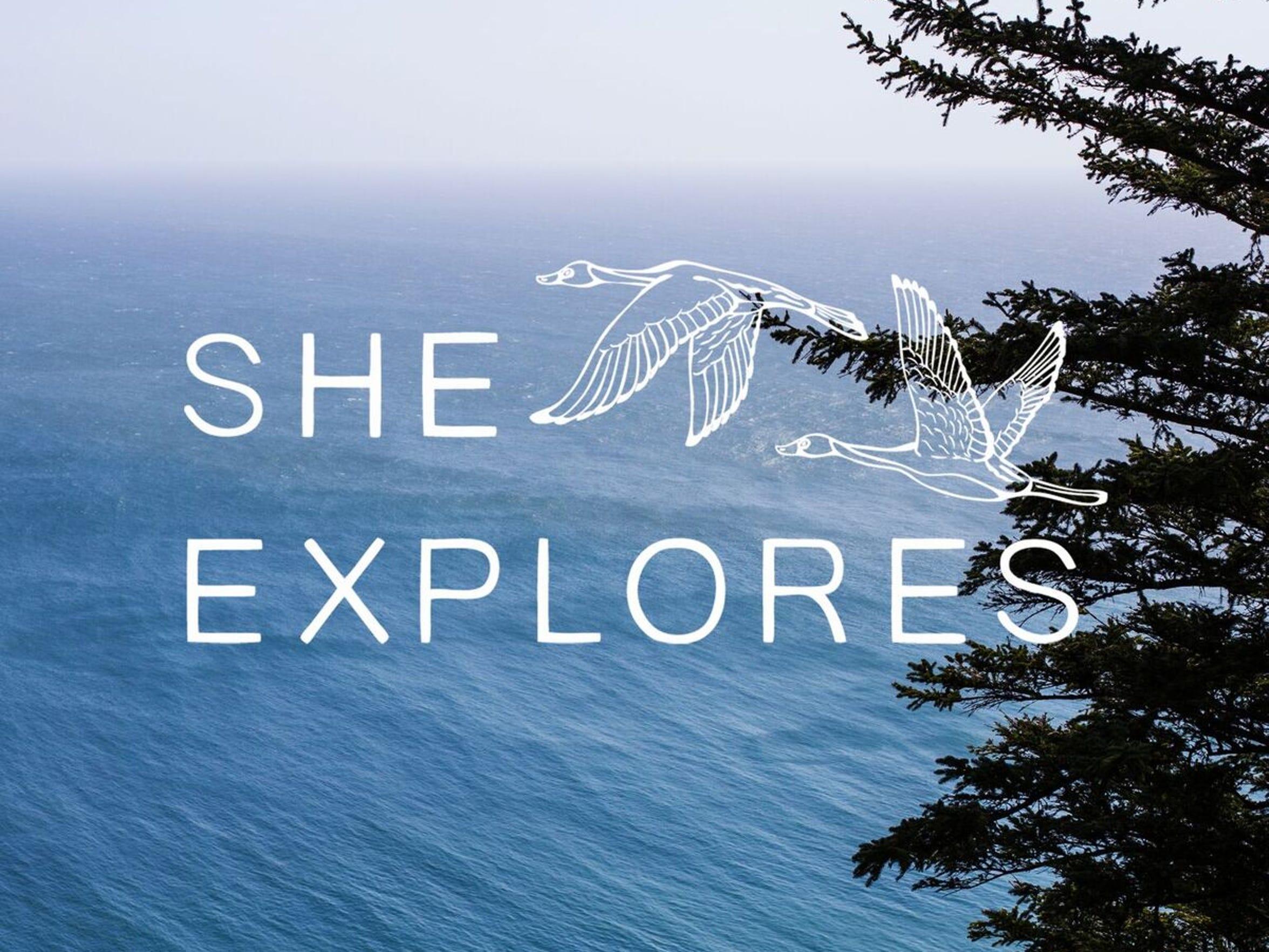 She Explores began as a website and evolved into a podcast for female explore adventurers.