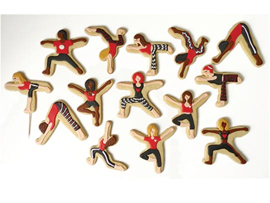 A collection of Yummi Yogi cookies.