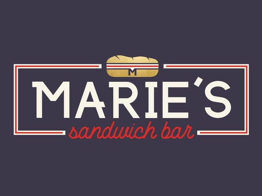 The newly designed logo for Marie's Sandwich Bar, which is moving from Kings Court to Kings Highway in Haddonfield.