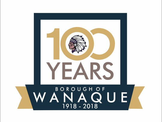 The centennial logo for Wanaque was designed by Michael