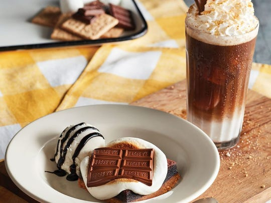 S'mores desserts are on the special Campfire menu, available through July 15 at Cracker Barrel Old Country Store locations.