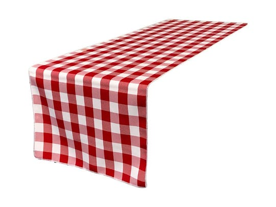 Gingham Checkered Table Runner from Houzz