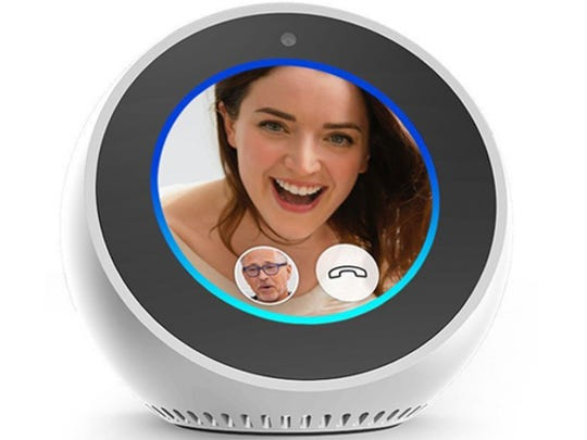 Smart screens like Amazon's Echo Show or Echo Spot let you make free video calls to others hands-free.
