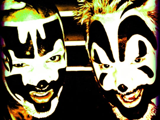 The Insane Clown Posse.
