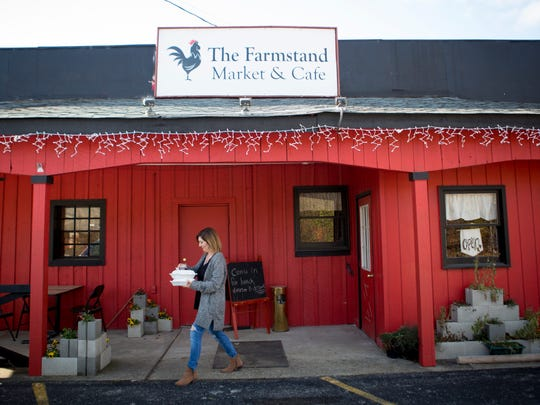 Wed., Nov. 22, 2017: The Farmstand Market & Cafe in Union, Ky.