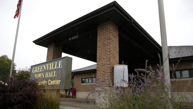 The Greenville Town Hall also functions as the Greenville Village Hall.
