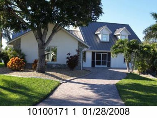 This home at 4506 SW 24th Ave., Cape Coral, recently