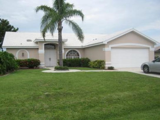 This home at 5366 Coral Ave., Cape Coral, recently