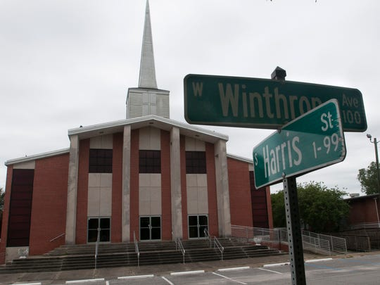 Warrington Baptist Church is pictured on Monday, May 1, 2017. The 77-year-old church has been acquired by Pensacola megachurch Olive Baptist Church.