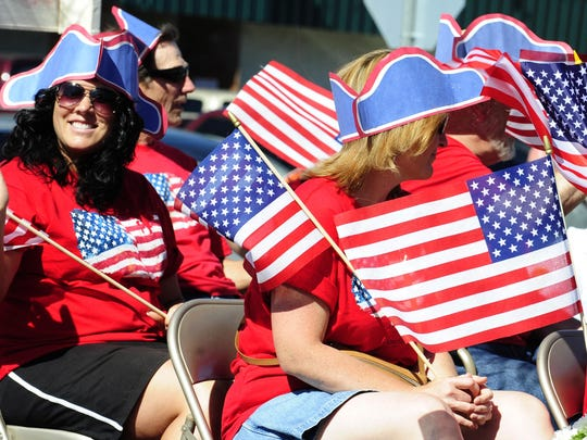 Dawn your red, white and blues for the Stayton Grand Parade, which begins at 4 p.m. Saturday, July 4, in downtown Stayton.