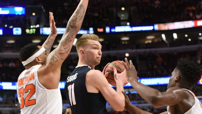 Gonzaga's Domantas Sabonis is being tabbed by mock draft experts as a potential Pacers pick.