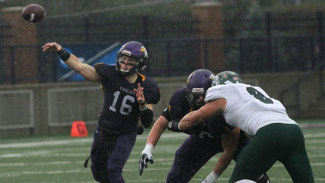 Ashland University quarterback Travis Tarnowski, a candidate for the Harlon Hill Trophy as the best player in NCAA Division II, has the Eagles rolling into the second round of the playoffs on an 11-game winning streak.