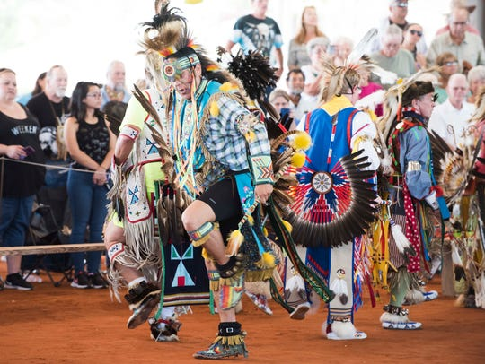 The 16th annual Thunder on the Beach Powwow is Friday, Saturday and Sunday at the Indian River County Fairgrounds.