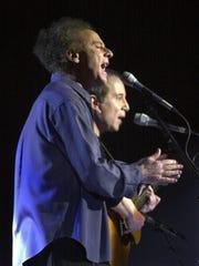 """Paul Simon and Art Garfunkel reunite and perform """"The"""