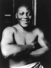 Boxing champion Jack Johnson