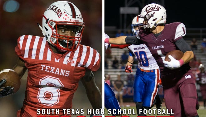 Calallen will take on Ray in a 30-5A North Zone Showdown on Friday.