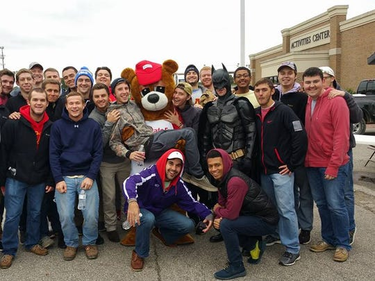There will be several characters, including Batman, on hand at this year's S.M.I.L.E. Mile on Oct. 1.