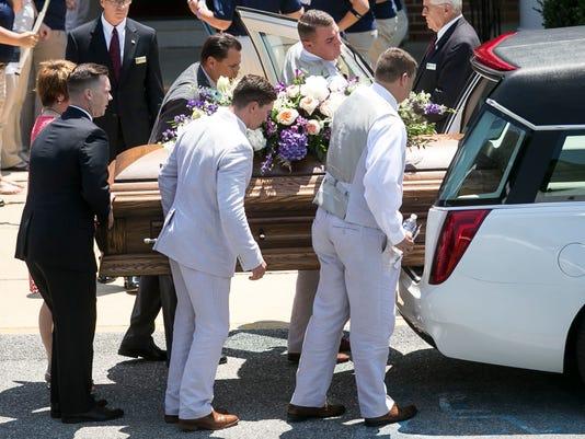 Amanda Strous Funeral