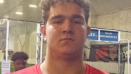St. Xavier offensive lineman Wyatt Smock is being recruited by colleges as a part of the 2018 class.