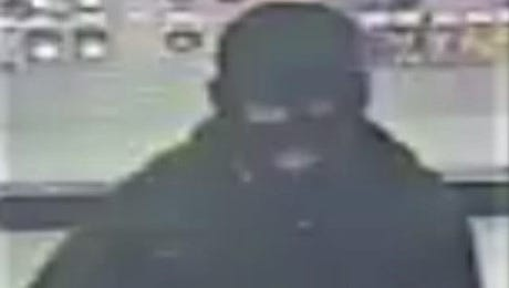 A man in a ski mask robs a Dollar General store on Feb. 8 on South Mesa Hills Drive.