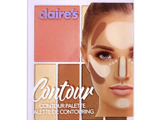 This photo provided by the FDA shows Claire's Contour