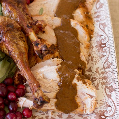 Spice things up this Thanksgiving with barbecue spiced turkey.