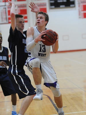 A three-year starter. senior forward Danny Buckwalter has been Cherry Hill West's most consistent player.
