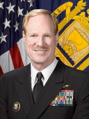 Vice Adm. Mike Miller is being kept on the active-duty