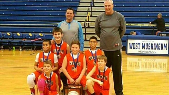 Sixth grade Heath travel team