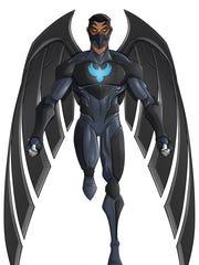 """Kagagi — The Raven,"" a comic character by Jay Odjick"