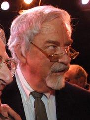 Harvey Schmidt, seen here at the final performance