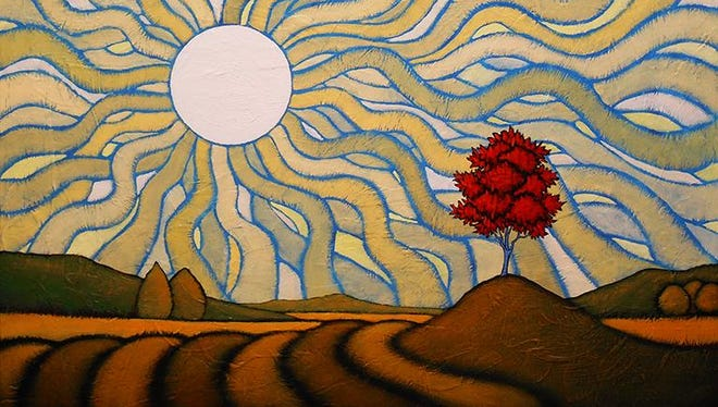 """GC Myers' """"Bearable Vastness"""" will be part of a new exhibit at West End Gallery in Corning."""