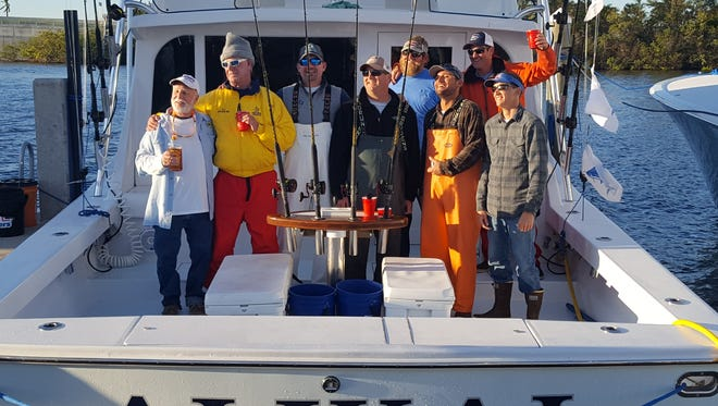 The crew of Alikai, led by Capt. Patrick Price of Jensen Beach and owned by angler Geoff Mayfield of Stuart, won the 64th Light Tackle Sailfish Tournament with 20 sailfish overall including 11 Sunday.