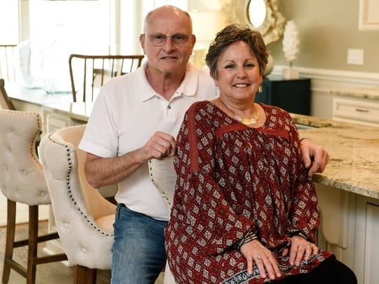 The Schmidts, who were among the first 10 buyers in