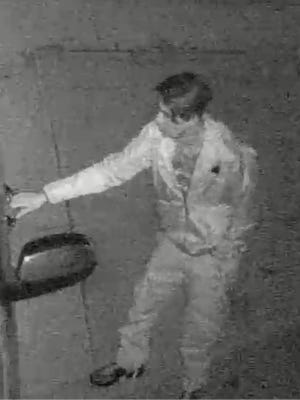 A photo of the man believed to have stolen a van from a Sparks home and then crashed it into a parked vehicle three houses down.