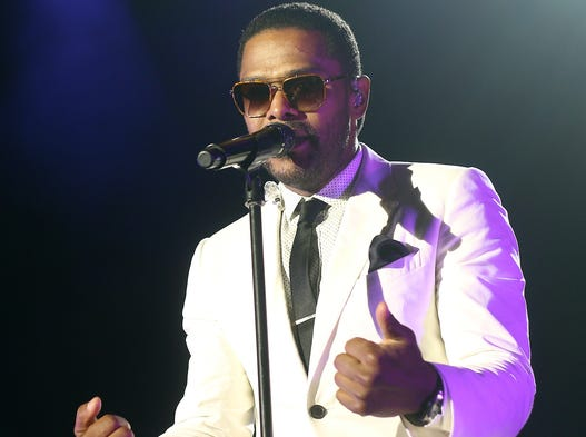 R&B-soul singer Maxwell performed at Horseshoe Casino Cincinnati on Saturday, July 19, 2014.