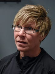 Denise Molesky describes the uses for cryotherapy Thursday,